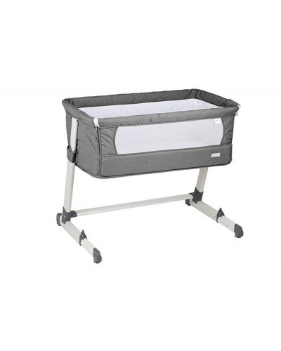 BABY GO-Patut cosleeper 2in1 toghether grey