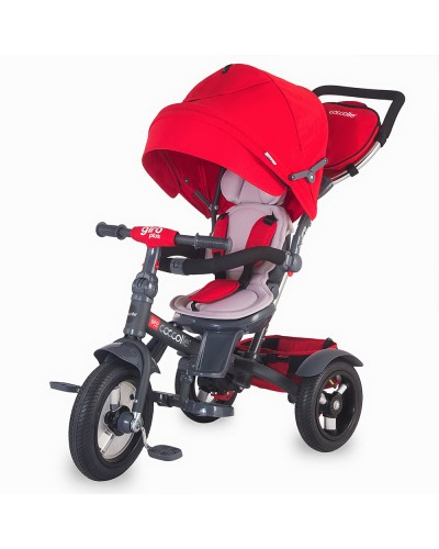 Tricicleta Coccolle Giro Plus multifunctionala Red