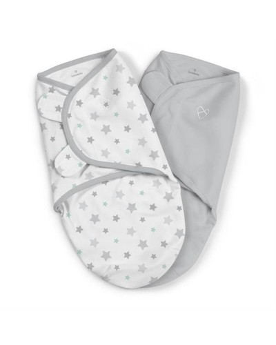 Summer Infant-57846 Swaddle Me sistem de infasare 2 piese Starry Skies