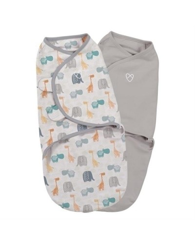 Summer Infant-55946A Swaddle Me sistem de infasare 2 piese Jungle