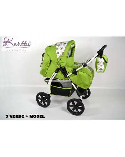 Carucior Kerttu Tiger 2 in 1 multifunctional