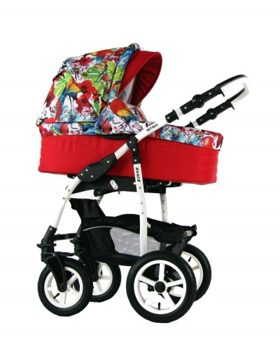 Carucior copii 3 in 1 Danco Red Joy