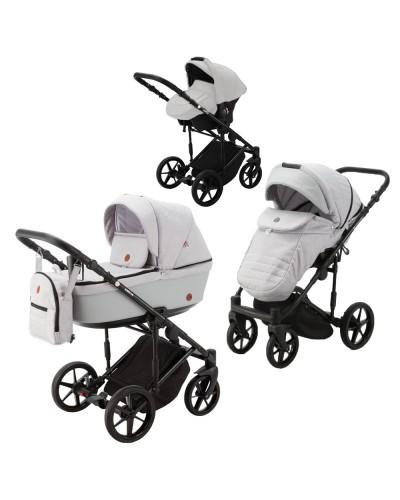 Carucior copii 3 in 1 Amelia Adamex Grey AM248