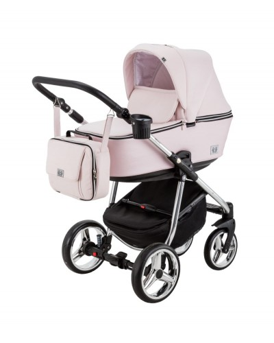 Carucior copii 3 in 1 Reggio Adamex Special Edition Pink Princess Y850