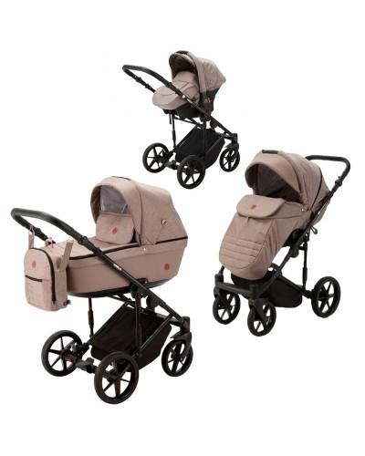 Carucior copii 3 in 1 Amelia Adamex Beige AM232