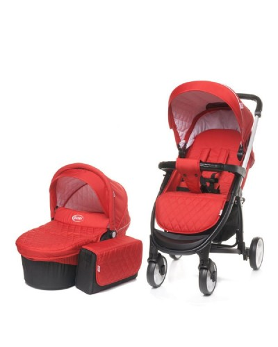 Carucior copii 2 in 1 Atomic 4Baby Red