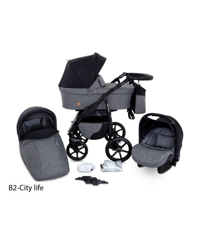 Carucior copii 3 in 1 Boston City Life