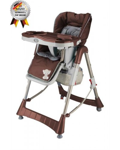 Babygo-Scaun De Masa Tower Maxi Brown