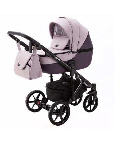 Carucior copii 3 in 1 Bibione Adamex Soft Purple PS13