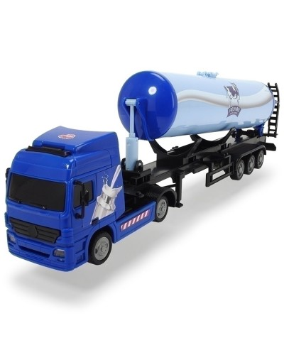 Camion Dickie Toys Road Truck Fresh Milk