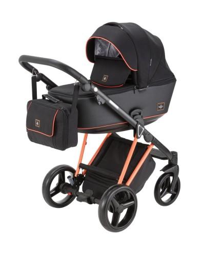 Carucior copii 3 in 1 Cristiano Adamex Special Edition FLUO Orange