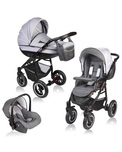 Carucior Crooner 3 in 1 - Vessanti - Grey