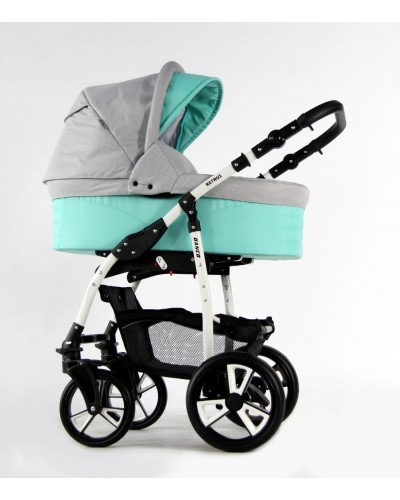 Carucior copii 3 in 1 Danco Grey Mint