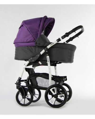 Carucior copii 3 in 1 Danco Purple Grey