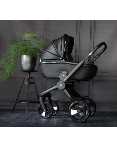 Carucior 3 in 1 Domani Luxury Black