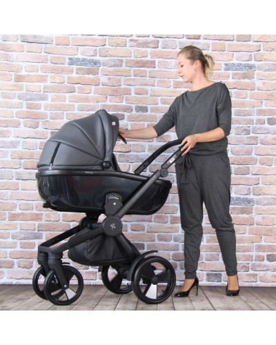 Carucior 3 in 1 Domani Dark Charcoal