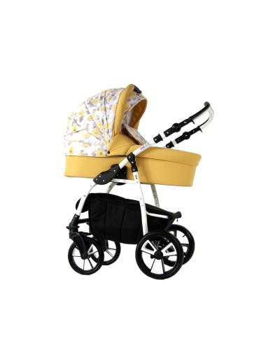 Carucior copii 3 in 1 Eco Yellow Spring