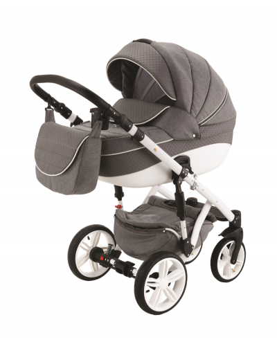 Carucior 3 in 1 Encore Adamex Grey Line X37