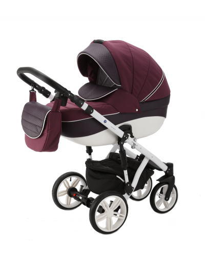 Carucior 3 in 1 Encore Adamex Bordo Senses X38