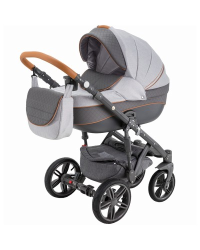 Carucior copii 3 in 1 Encore Adamex Grey Passion X4