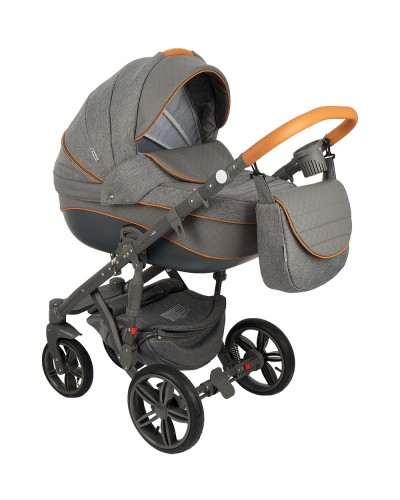 Carucior copii 3in 1 Adamex Encore Grey Lover X5