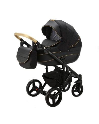 Carucior 3 in 1 ENZO Adamex Black Beauty EN3