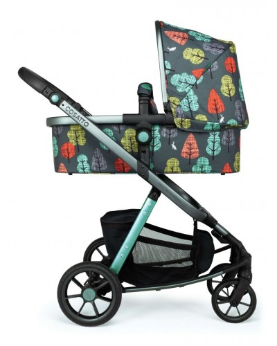 Carucior copii 3 in 1 Cosatto Giggle Quad Hare Wood