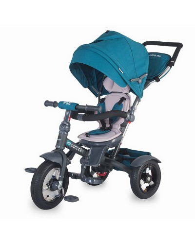 Tricicleta Coccolle Giro Plus multifunctionala Blue