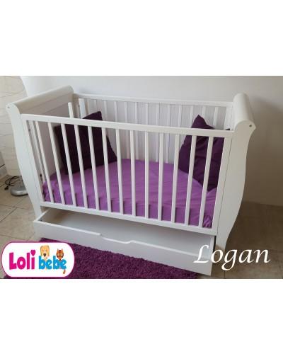 Patut din lemn pentru copii Logan
