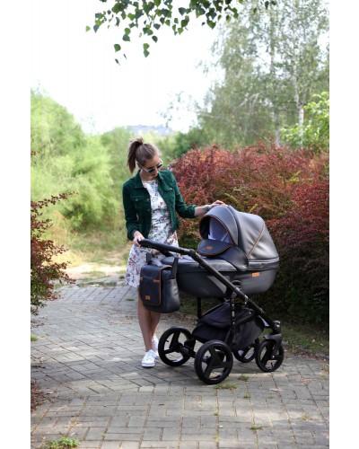 Carucior copii 3 in 1 Adamex Massimo V 205 Style Deluxe