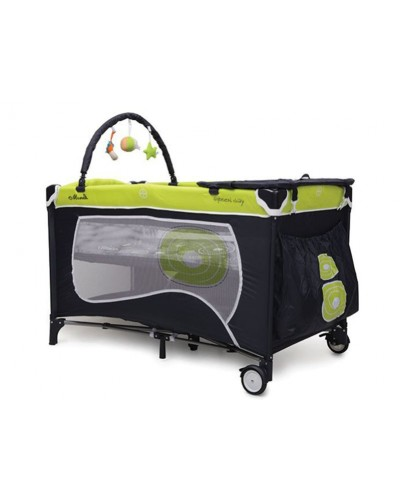 Patut pliant bebelusi Happy Baby Green Day