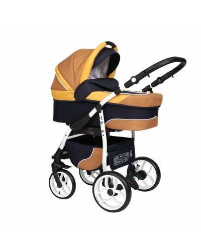 Carucior 3 in 1 Q9 Baby Merc Black Copper