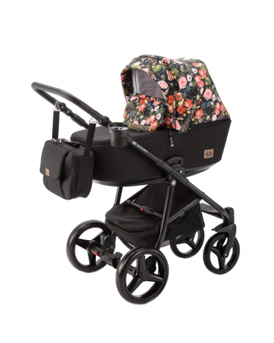 Carucior copii 3 in 1 Reggio Adamex Special Edition Flowers