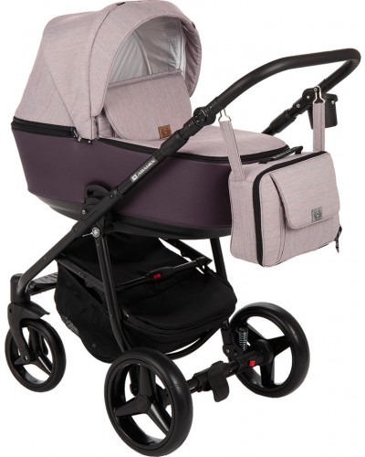 Carucior copii 3 in 1 Reggio Adamex Soft Purple Y59