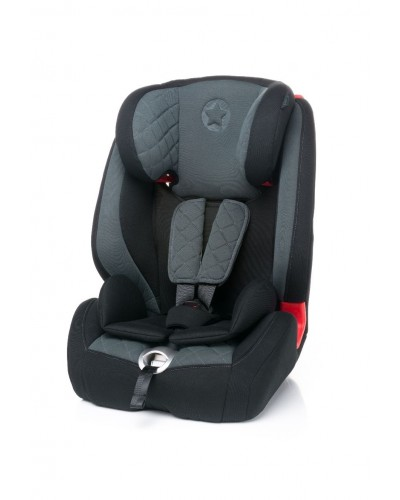 Scaun auto cu isofix 9-36 kg Star-Fix 4Baby Dark Grey