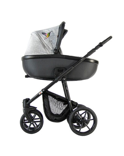 Carucior 3 in 1 Toto Retrus Grey Colibri