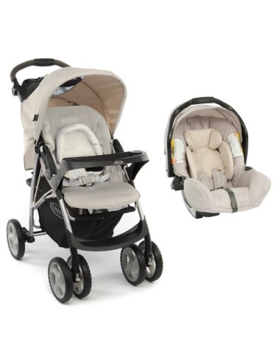 Carucior 2 in 1 Graco Ultima TS Biscuit