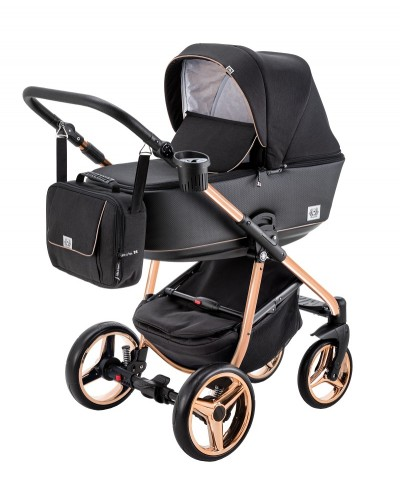 Carucior copii 3 in 1 Reggio Adamex Special Edition Rose Y302