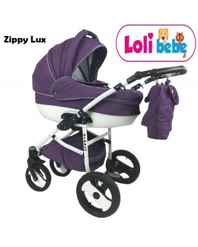 CARUCIOR 3 IN 1 ZIPPY LUX BABY SEKA PURPLE